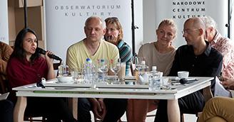 Maija Julius @ panel 2 © Foto Joanna Stoga